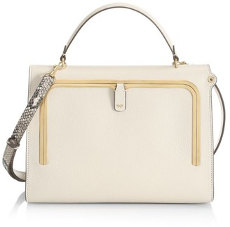 Anya Hindmarch Postbox Leather Satchel