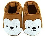 Binmer(TM) Baby Girls Boys Cloth Shoes Sneaker Anti-slip Soft Sole Toddler (0~6 Month, Coffee)