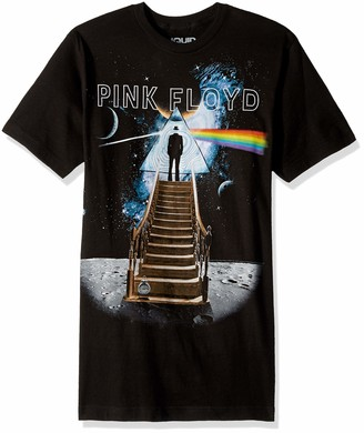 Liquid Blue Unisex-Adult's Pink Floyd Stairway to The Moon T-Shirt