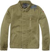 Scotch & Soda Embroidered Army Jacket