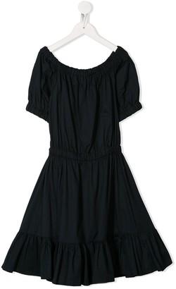 Piccola Ludo Off Shoulder Dress
