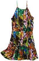 Milly Minis Strappy Tier Dress (Big Girls)