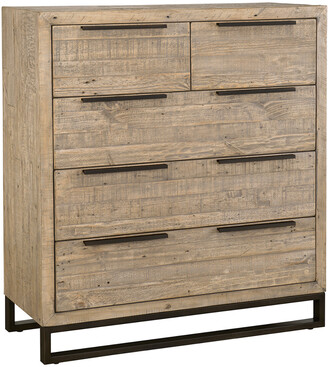 Classic Home By Kosas Home Norton Reclaimed Pine 5 Drawer Dresser