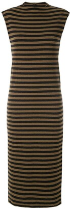 OSKLEN Striped Midi Dress