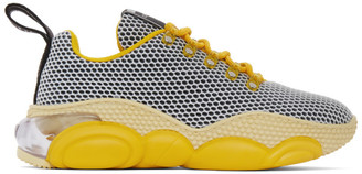 Moschino Yellow Teddy Bubble Sneakers
