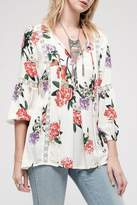 Blu Pepper Show-Love Floral Tunic