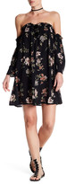 Angie Off-the-Shoulder Floral Print Dress