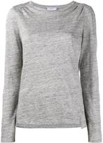 Frame Long Sleeve Tee - Grey