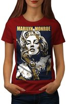 Hot Marilyn Monroe Urban City Women XXL T-shirt | Wellcoda