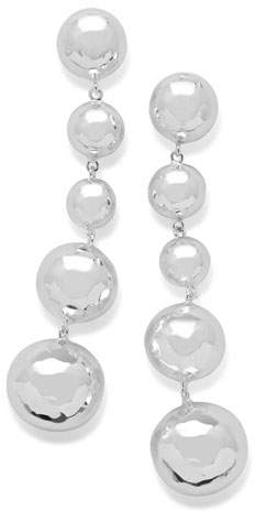 Ippolita 925 Classico Long Graduated Hammered Ball Earrings