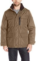London Fog Men's Heavy Peached Taslon Nylon Utility Coat
