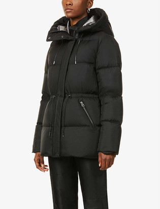 Mackage Freya hooded shell-down coat