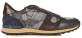 Valentino Rockrunner Butterfly-print Trainers