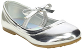 Jelly Beans Silver Lookout Ballet Flat