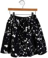 Nununu Girls' Splatter Print A-Line Skirt