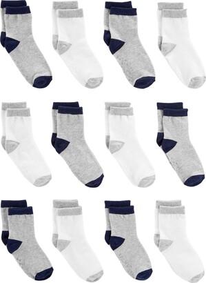 Simple Joys by Carter's Baby Boys' 12-Pack Sock Crew