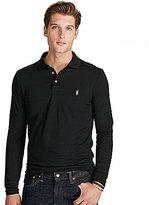 Polo Ralph Lauren Custom-Fit Pima-Blend Long-Sleeve Polo Shirt