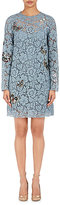 Valentino Women's Corded-Lace Minidress-LIGHT BLUE