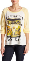 Lauren Moshi Raglan Long Sleeve Hippie Van Tee