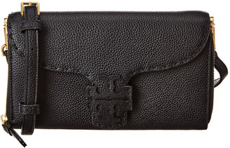 Tory Burch Mcgraw Leather Wallet Crossbody