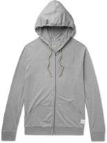 Paul Smith - Mélange Cotton-jersey Zip-up Hoodie