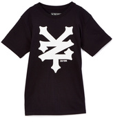 Zoo York Black & White Logo Tee - Boys