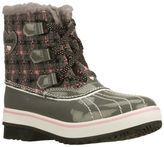 Skechers NEW Girls Boots Bootie HIGHLANDERS Charcoal
