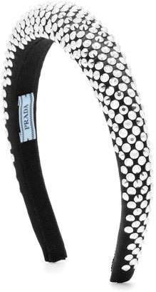 Prada Crystal-embellished headband