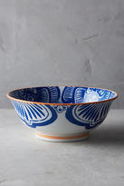 Anthropologie Inside Out Serving Bowl