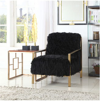 Chic Home Bayla Black Accent Chair