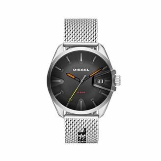 Diesel Men's Analog Quartz Watch with Stainless Steel Strap DZ1897