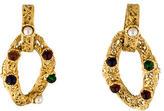 Chanel Gripoix Openwork Clip-On Earrings