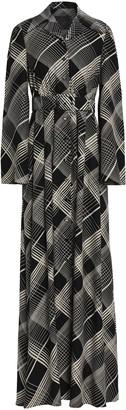 Co Printed Silk Maxi Dress