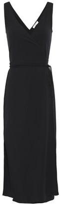 Vince Stretch-jersey Midi Wrap Dress