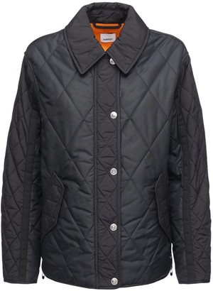 Burberry Levenham Quilted Jacket W/ Back Logo