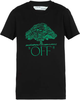 Off-White Off White Off Tree Casual T-shirt