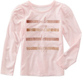 Epic Threads Mix and Match Glitter-Print T-Shirt, Toddler Girls (2T-5T), Created for Macy's