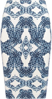 Tart Collections Tracy printed stretch-jersey skirt