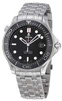 Omega Men's 21230412001003 Analog Display Automatic Self Wind Silver Watch