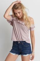 American Eagle Outfitters AE Soft & Sexy Gingham Top