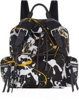 Burberry Medium Splash Buckled Rucksack