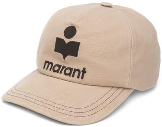 Isabel Marant Tyron logo embroidered baseball cap