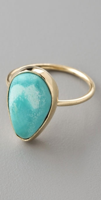 Jacquie Aiche Turquoise Candy Ring