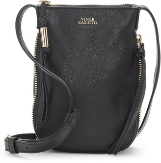 Vince Camuto Kenzy Leather Phone Crossbody Bag