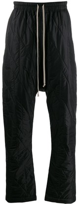 Rick Owens Quilted Track Pants