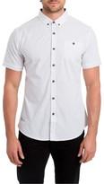 7 Diamonds Men's Formation Spot Woven Shirt