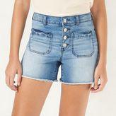 Lauren Conrad Women's High-Waist Jean Shorts