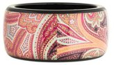 Etro Resin Paisley Bangle
