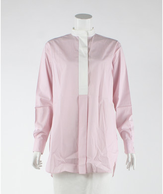 Celine Pink Cotton Dresses
