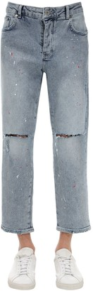 Other 118 Destroyed Paint Cotton Blend Jeans
